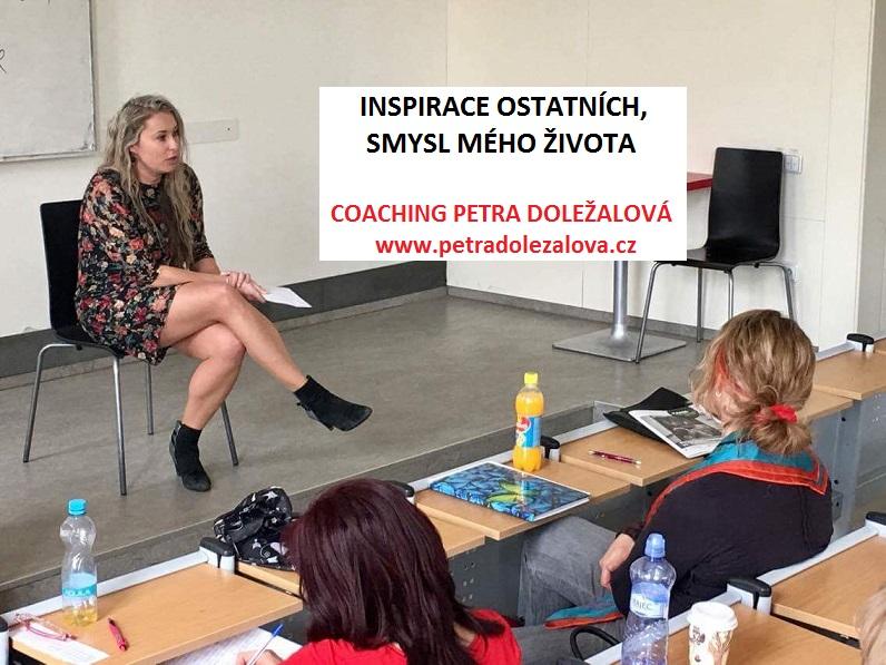 Petra Doležalová - kurzy pschyologie - přednáška